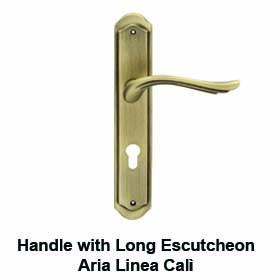 door handles with long plate