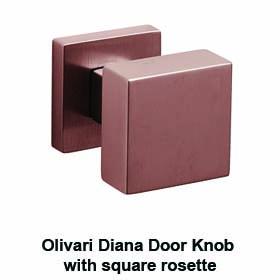 diana olivari door knob square